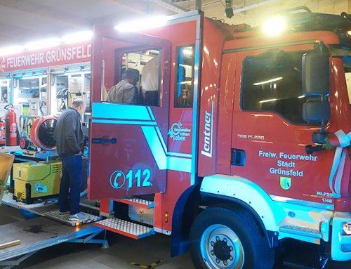 Stadt Grünsfeld erhält neues Löschfahrzeug