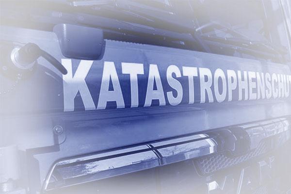 Katastrophenschutz Rettungsfahrzeug