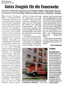 Strategieplan der Feuerwehr Klangenfurt 2020