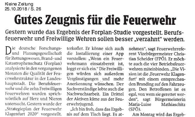 Strategieplan der Feuerwehr Klangenfurt 2020-teaser