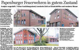 Feuerwehrbedarfsplan für die Stadt Papenburg