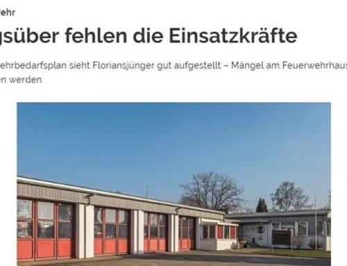 Feuerwehrbedarfsplan der Forplan GmbH in Affalterbach vorgestellt