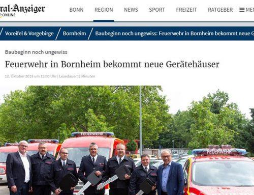 Neue Standorte für die Feuerwehr Bornheim