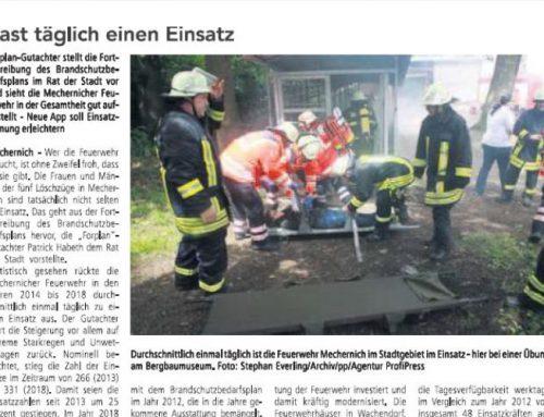 FORPLAN Gutachter stellt die Fortschreibung des Brandschutzbedarfsplanes für Mechernich im Stadtrat vor