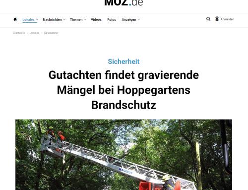 Forplan Gutachten Gefahrenabwehrbedarfsplan Hoppegarten