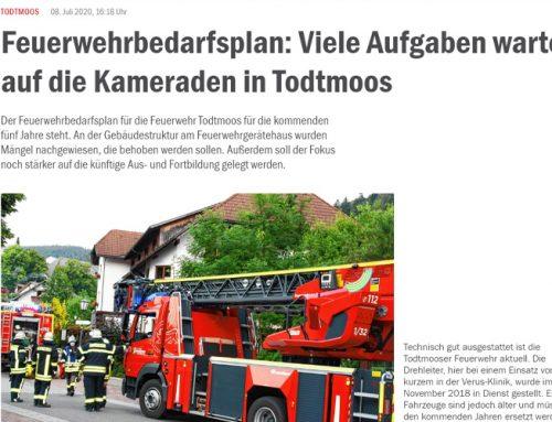 FORPLAN Gutachten Feuerwehrbedarfsplan für die Gemeinde Todtmoos