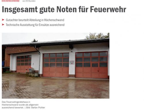 Feuerwehrbedarfsplan Höchenschwand: FORPLAN GmbH gibt insgesamt gute Noten für die Feuerwehr